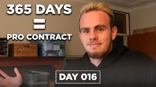 HOW I WILL SIGN A PRO FOOTBALL CONTRACT IN 365 DAYS