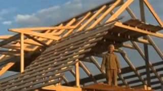Строительство деревянного дома из бруса. Часть 2(, 2011-07-30T06:54:07.000Z)