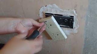 Man Finds Secret Forgotten Safe Behind Wall Outlet