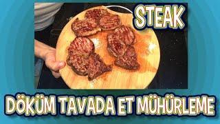 Döküm Tavada Lokum Gibi Antrikot Nasıl Yapılır Püf Noktalarıyla En Kolay Et Mühürleme Et Pişirme