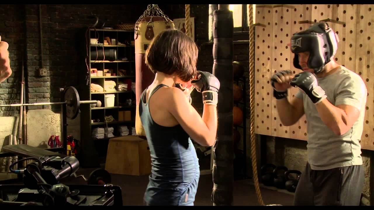 Ant-Man training with Evangeline Lilly and Paul Rudd - YouTube