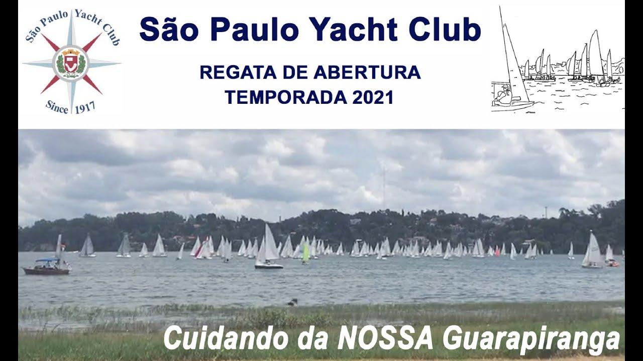 Palestra sobre a Nossa Guarapiranga pela Regata de Abertura e início da temporada 2021 de vela em SP