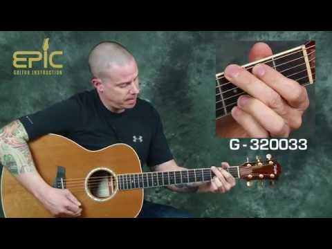 Guitar lesson modern country song Jake Owen Eight Second Ride with lead lines chords strums tabs