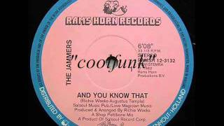 "The Jammers - And You Know That (12"" Funk 1982)"
