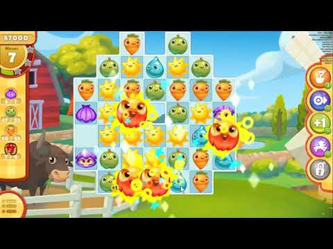 Farm Heroes Saga Bonus Level 4, mobile.