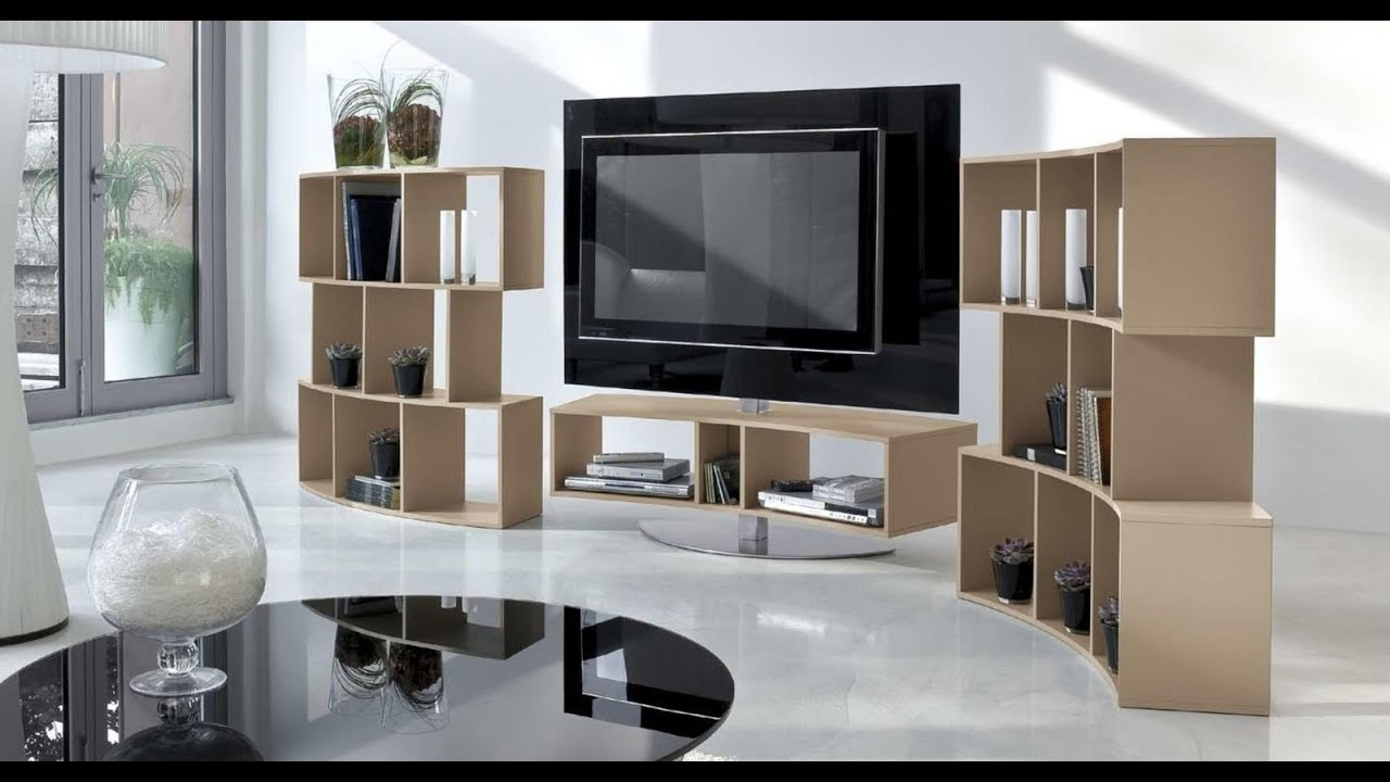 Muebles de tv modernos en mbar muebles youtube for Muebles en l modernos