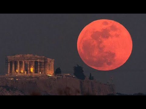 Beautiful Super blue blood moon live from ABUDHABI UAE