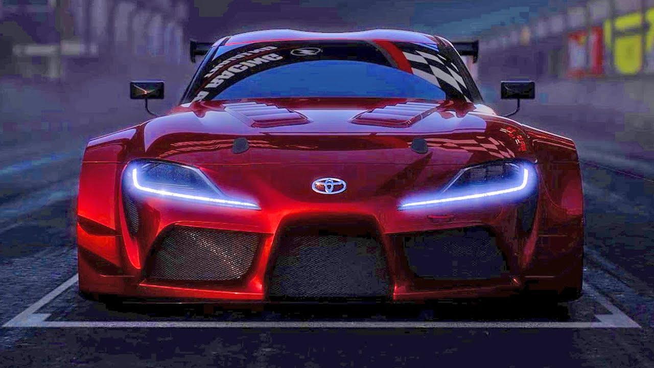 Toyota Supra 2018 Racing Concept Youtube