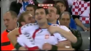 Końcówka meczu o 3.miejsce  Polska   Dania MŚ 2009