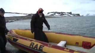 البطريرك كيريل في القطب الجنوبي (فيديو)