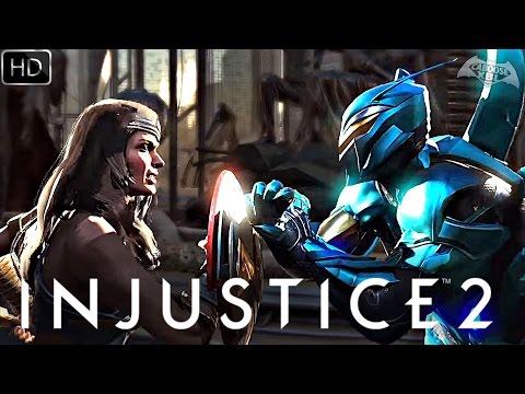 Injustice 2 - BLUE BEETLE & WONDER WOMAN TRAILER HD