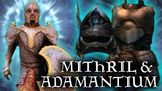 Skyrim: WHAT IS IT? - Mithril & Adamantium Armor - Elder Scrolls Lore