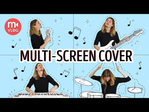 Shooting And Editing Split-screen (multi-screen) Cover Song Video