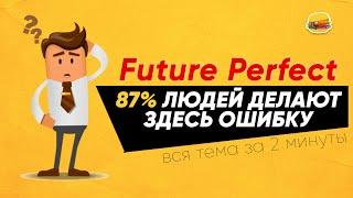 Future Perfect - вся суть за 2 минуты (Английские времена) | Инглиш Шоу