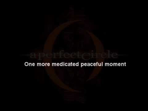 A Perfect Circle - Orestes - With lyrics.