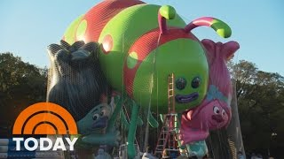 2016 Macy's Thanksgiving Day Parade Balloons Sneak Peek   TODAY