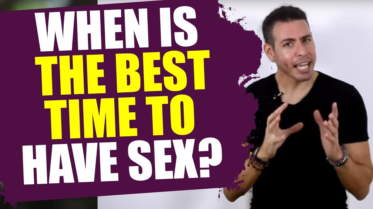 Best time of the day to have sex