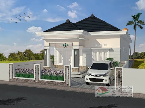 Rumah Minimalis Lantai 1_7.5x20_Modern House