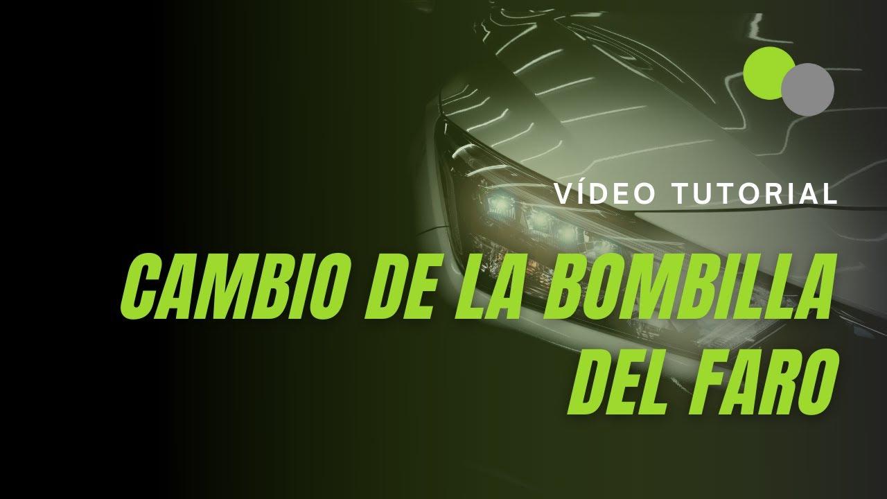 C mo cambiar la bombilla del faro de un coche doovi - Como pulir faros de coche ...