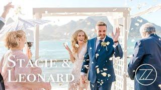 Beautiful Beachside Wedding at Tintswalo Atlantic | Leonard & Stacey | ZaraZoo Cine