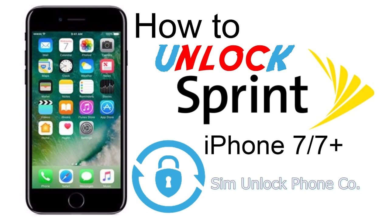 sprint unlock iphone how to unlock sprint iphone 7 by imei from carrier lock 13044