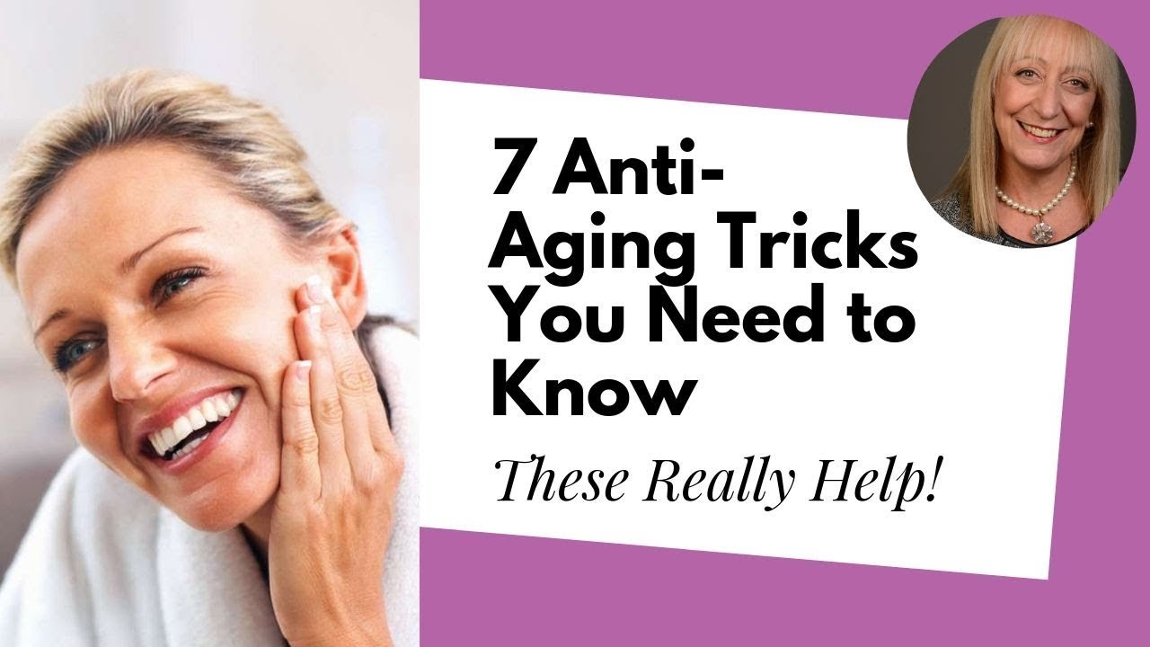 7 Anti-Aging Tricks that Every Woman Over 60 Should Know