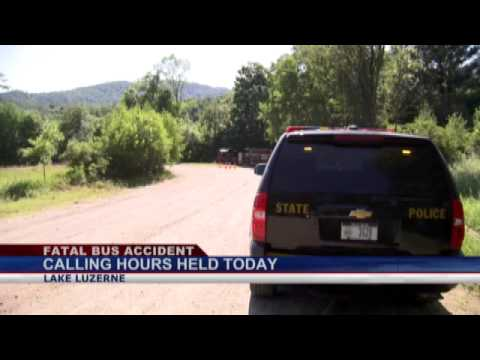 Calling hours held for victim of bus crash