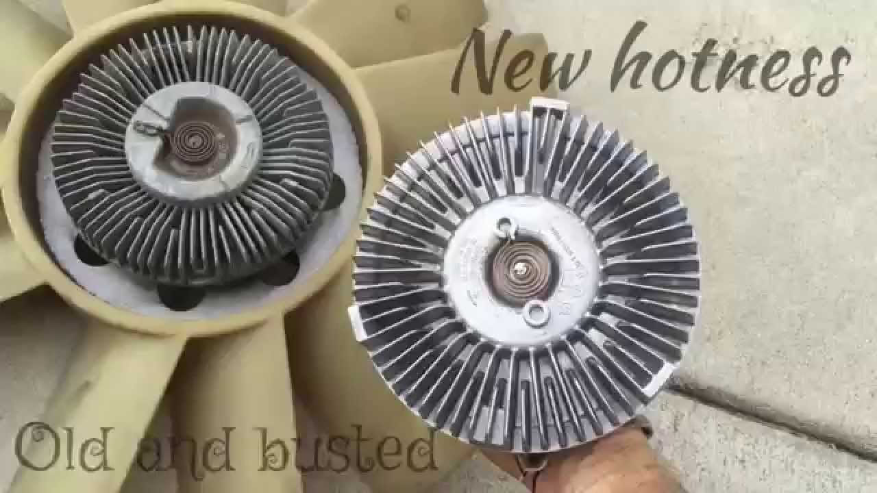 Replace A Fan Clutch 2000 Chevrolet Blazer S10 4 3l V6