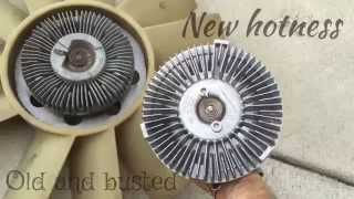 Replace a fan clutch - 2000 Chevrolet Blazer S10, 4.3L V6