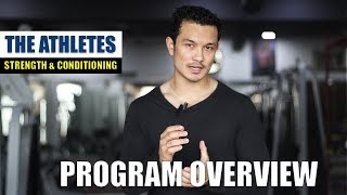 THE ATHLETES- PROGRAM OVERVIEW  Workout- Nutrition- Supplement 