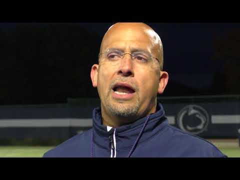 James Franklin and Saquon Barkley talk about Ohio State's defense