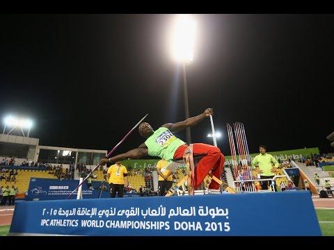 Men's javelin F57 | final |  2015 IPC Athletics World Championships Doha