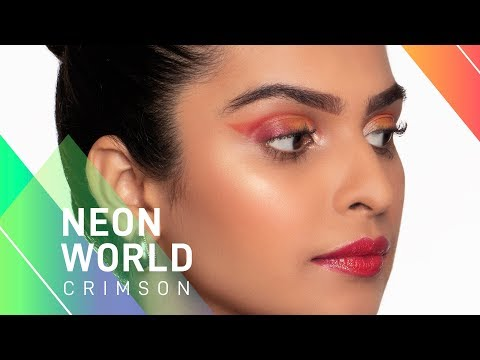 Neon World: Crimson | Aashna | MyGlamm