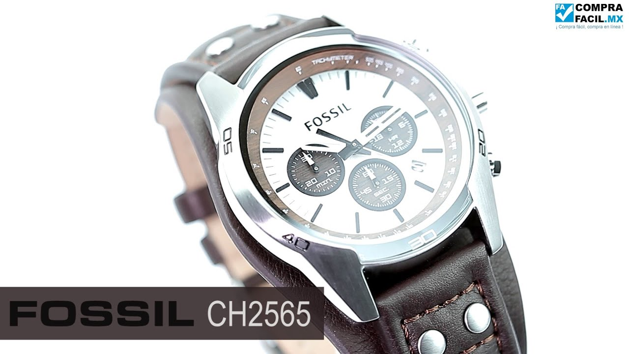 da99d80d1830 Reloj Fossil CH2565 - www.CompraFacil.mx - YouTube