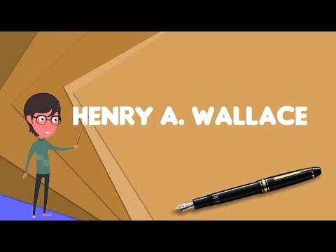 what-is-henry-a.-wallace?,-explain-henry-a.-wallace,-define-henry-a.-wallace