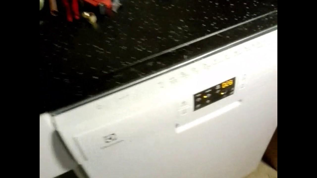 Inredning blandare bänkdiskmaskin : Testkörning av vatten och diskmaskin. - YouTube