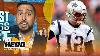 Tom Brady being named top clutch QB is 'ridiculous' — Nick Wright | NFL | THE HERD