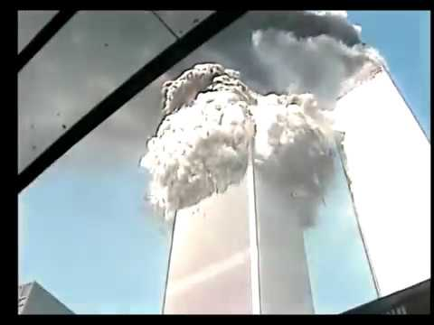 Final Moments at Ground Zero and Collapse. 9/11 twin towers falling September 11th 2001