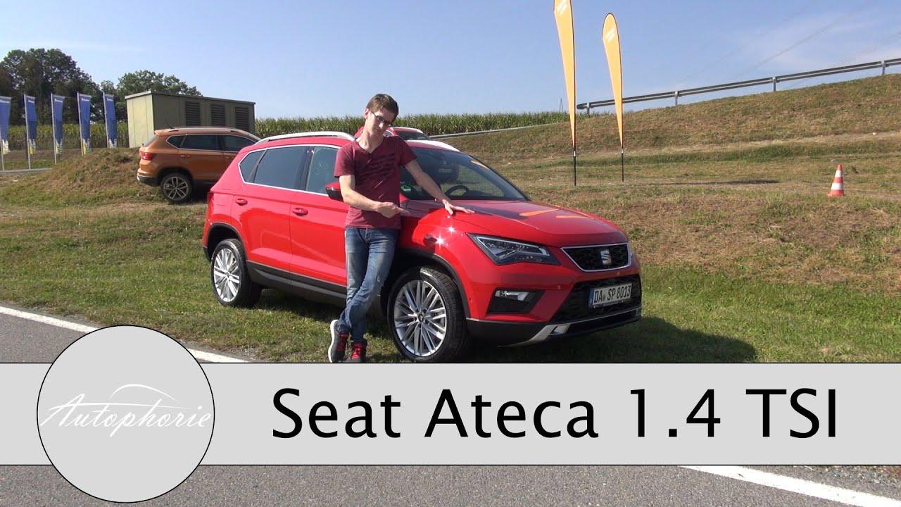 2016 seat ateca 1 4 tsi style xcellence test dsg vs. Black Bedroom Furniture Sets. Home Design Ideas