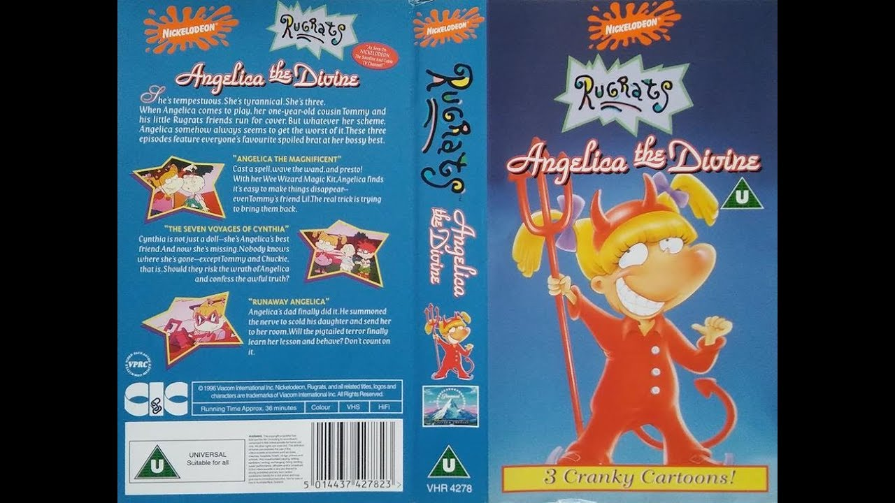 Opening and Closing of 'Rugrats - Angelica the Divine' (1996, UK VHS)