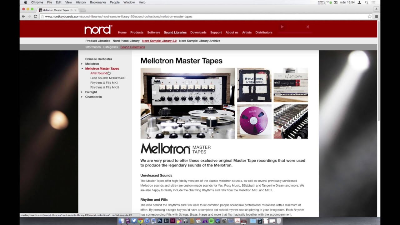 Introduction to the Nord Sample Library 2 0