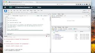 Using DSX with IIAS: Running a Spark application from RStudio
