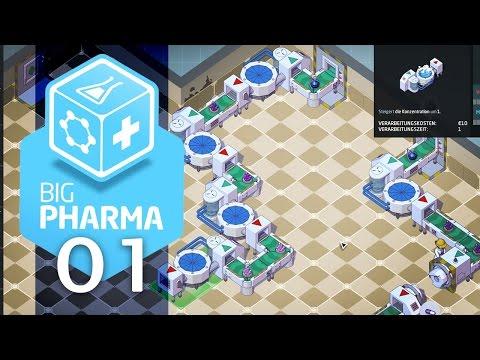 Big Pharma [#01] - Tutorialmeisterspieler Rahm macht Kopfschmerzen - Let's Play