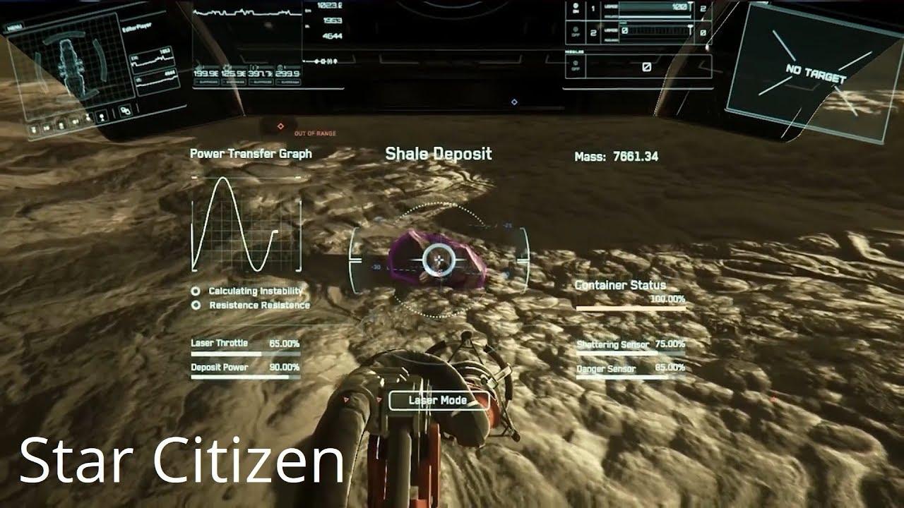 Star Citizen Mining Gameplay Mechanics 32 Beyond Youtube