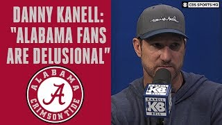 """Kanell: """"Alabama Fans Are Delusional,"""" Small Chance at College Football Playoff 