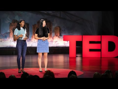 Video image: What it takes to be racially literate - Priya Vulchi and Winona Guo