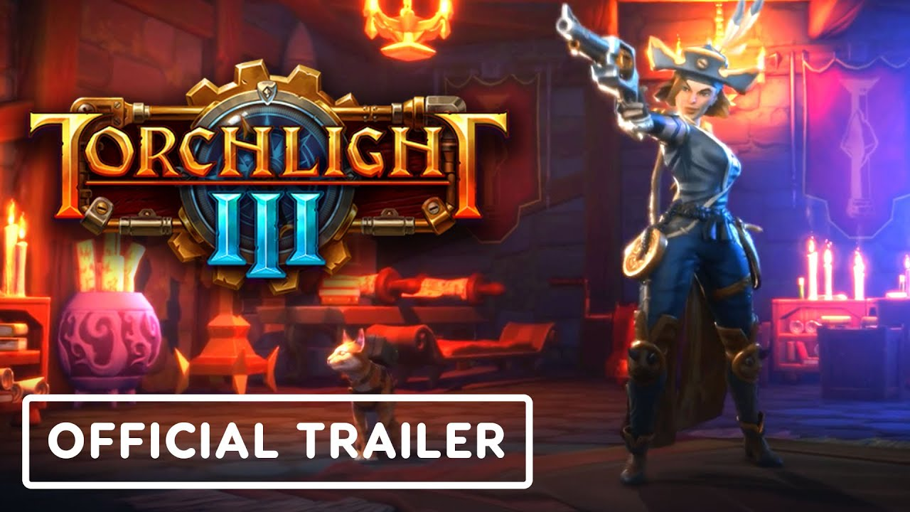 Torchlight 3 - Official Sharpshooter Reveal Trailer