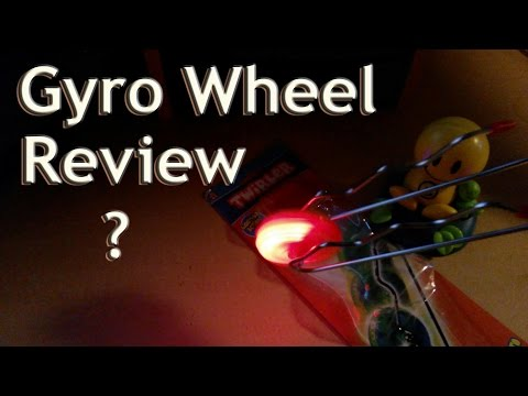 (:review:)-retro-gyro-wheel-toy-w/lights~-magnetic,-gyroscope-gravity-wand