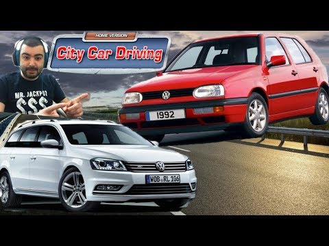 Golf 3 /Volkswagen Passat 2016 /Test Drive/ City Car Driving #11