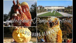 Ludwigsburg Pumpkin Festival | Travel With Me | Ludwigsburg, Germany